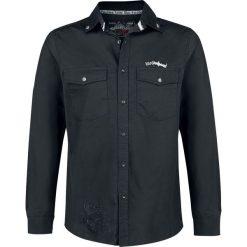 Motörhead EMP Signature Collection Koszula czarny. Czarne koszule męskie na spinki marki Leonardo Carbone, s, z materiału, z długim rękawem. Za 224,90 zł.