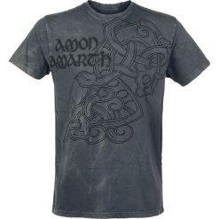 T-shirty męskie: Amon Amarth Pure Viking T-Shirt ciemnoszary