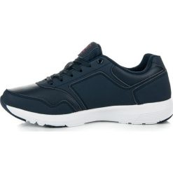Granatowe obuwie sportowe KAIA. Niebieskie buty skate męskie AX BOXING. Za 89,90 zł.