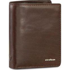 Duży Portfel Męski STRELLSON - Jefferson 4010001302 Dark Brown 702. Brązowe portfele męskie Strellson, ze skóry. W wyprzedaży za 149,00 zł.
