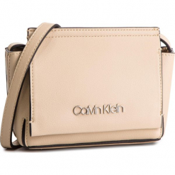 Torebka CALVIN KLEIN - Stitch Flap Crossbody K60K604828 638. Brązowe listonoszki damskie Calvin Klein, ze skóry ekologicznej. Za 349,00 zł.