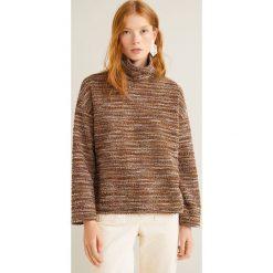 Mango - Sweter Jaspe. Szare swetry klasyczne damskie Mango, l, z bawełny. Za 119,90 zł.