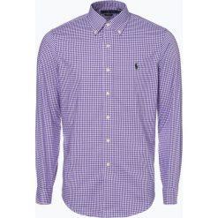 Polo Ralph Lauren - Koszula męska – Regular Fit, lila. Niebieskie koszule męskie na spinki Polo Ralph Lauren, l, z haftami, z bawełny, polo. Za 499,95 zł.
