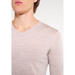 Swetry klasyczne męskie: Reiss EMPORER Sweter oatmeal