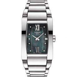RABAT ZEGAREK TISSOT T - LADY T105.309.11.126.00. Białe zegarki damskie TISSOT, ze stali. W wyprzedaży za 1364,00 zł.