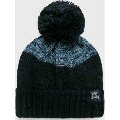 Tokyo Laundry - Czapka. Czarne czapki zimowe męskie marki Tokyo Laundry, na zimę, z dzianiny. Za 49,90 zł.