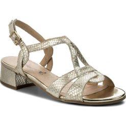 Sandały damskie: Sandały CAPRICE – 9-28201-20 Gold Rep Me 953