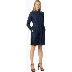 G-Star - Sukienka damska – Tacoma, niebieski. Niebieskie sukienki hiszpanki G-Star, s, z jeansu, retro. Za 659,95 zł.