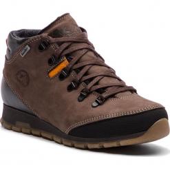 Trekkingi NIK - 08-0587-11-3-02-03 Brązowy. Brązowe buty zimowe damskie Nik, z materiału. W wyprzedaży za 239,00 zł.