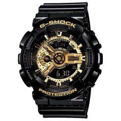 Zegarek Casio Męski GA-110GB-1AER G-Shock czarny. Czarne zegarki męskie CASIO. Za 761,66 zł.
