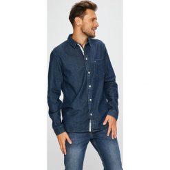 Tommy Jeans - Koszula. Szare koszule męskie jeansowe marki Tommy Jeans, m, z klasycznym kołnierzykiem, z długim rękawem. W wyprzedaży za 279,90 zł.