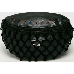 Spiral - Nerka Gotham Lace. Czarne walizki marki Spiral, w paski, z materiału. W wyprzedaży za 99,90 zł.