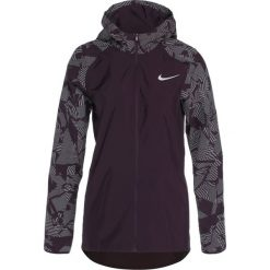 Nike Performance HOODED FLASH ESSENTIAL Kurtka do biegania port wine/silver. Czerwone kurtki sportowe damskie Nike Performance, s, z materiału. W wyprzedaży za 276,75 zł.