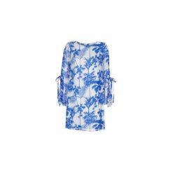 Sukienki krótkie Derhy  ALESIA. Białe sukienki hiszpanki Derhy, l, z krótkim rękawem, mini. Za 258,30 zł.