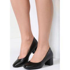 Buty ślubne damskie: Czarne Czółenka Lady Approved