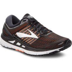 Buty BROOKS - Transcend 5 110276 1D 092 Black/Orange/Silver. Czarne buty do biegania męskie Brooks, z materiału. W wyprzedaży za 459,00 zł.