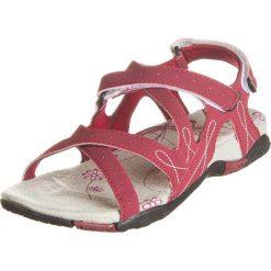 Rzymianki damskie: Sandały trekkingowe w kolorze czerwonym