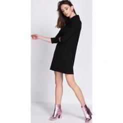 Czarna Sukienka Get Underway. Czarne sukienki hiszpanki Born2be, l, mini. Za 79,99 zł.