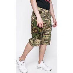 G-Star Raw - Szorty. Szare spodenki jeansowe męskie marki G-Star RAW, casualowe. W wyprzedaży za 269,90 zł.