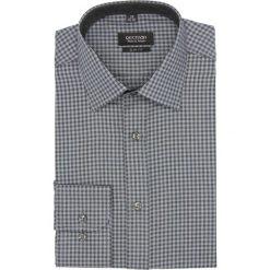 Koszula bexley f2680 długi rękaw slim fit szary. Szare koszule męskie slim marki Recman, na lato, l, w kratkę, button down, z krótkim rękawem. Za 139,00 zł.