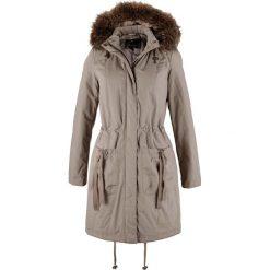 Płaszcze damskie: Krótki płaszcz bonprix brunatny