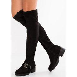 Lost Ink TIA CLEAT SOLE  Muszkieterki black. Czarne buty zimowe damskie Lost Ink, z materiału. W wyprzedaży za 174,85 zł.