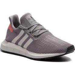 Buty adidas - Swift Run B37728 Grethr/Cblack/Greone. Szare buty sportowe damskie Adidas, z materiału. W wyprzedaży za 269,00 zł.