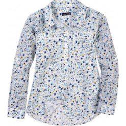 Bluzki dziewczęce z długim rękawem: Koszula w kwiecisty deseń dla dziewczynki