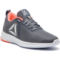 Buty Reebok - Astroride Essential DV4095 Grey/Guava/White. Szare buty do biegania damskie marki KALENJI, z gumy. Za 199,00 zł.