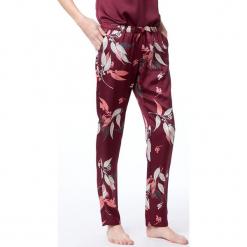 Etam - Spodnie piżamowe 650107775. Czerwone piżamy damskie Etam, l, z dzianiny. Za 119,90 zł.