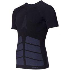 Odlo Koszulka męska Evolution Warm czarna r. S (180912). Czarne koszulki sportowe męskie marki Odlo, m. Za 229,95 zł.