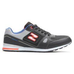 Czarne Buty Sportowe Go Quiet. Czarne buty sportowe chłopięce Born2be, z materiału, z otwartym noskiem, na sznurówki. Za 69,99 zł.