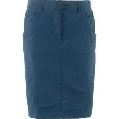Spódnica ze stretchem bonprix ciemnoniebieski. Niebieskie spódniczki marki Mads Nørgaard, z bawełny. Za 69,99 zł.