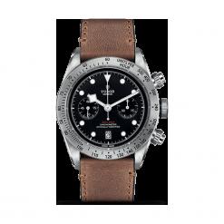 ZEGAREK TUDOR Heritage Black Bay Chrono 79350 CALF LEATHER BLACK IND W. Czarne zegarki męskie TUDOR, szklane. Za 19590,00 zł.