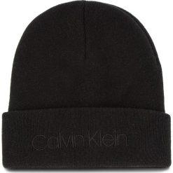 Czapka CALVIN KLEIN - Casual Beanie M K50K504121 001. Czarne czapki męskie marki Calvin Klein, z kaszmiru, casualowe. Za 179,00 zł.