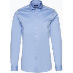 Tiger of Sweden - Koszula męska, niebieski. Brązowe koszule męskie marki Tiger of Sweden, m, z wełny. Za 379,95 zł.