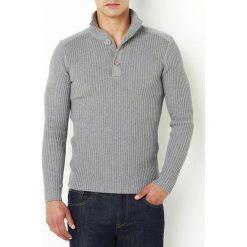 Kardigany męskie: Klasyczny sweter z bawełny