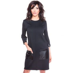 """Sukienki hiszpanki: Sukienka """"Isla"""" w kolorze czarnym"""