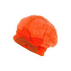 Czapka damska Verona pomarańczowa. Brązowe czapki zimowe damskie marki Art of Polo. Za 49,91 zł.