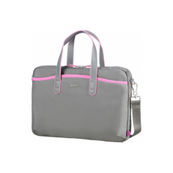 """Samsonite Nefti 13.3"""" szara / różowa. Czerwone torby na laptopa Samsonite, w kolorowe wzory. Za 269,00 zł."""