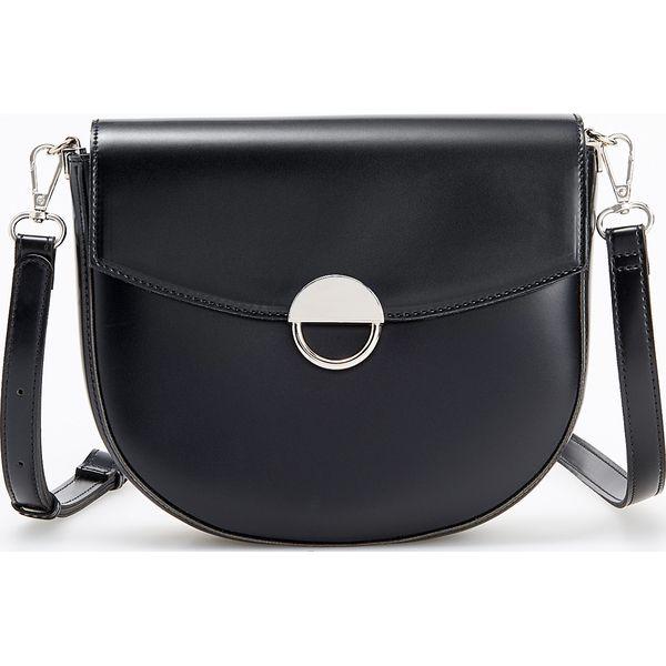 b8d77a4bc6efc Torebka typu saddle bag - Czarny - Czarne torebki klasyczne damskie  Reserved, bez wzorów, bez dodatków. Za 99,99 zł. - Torebki klasyczne  damskie - Torebki i ...