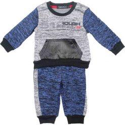 Spodnie niemowlęce: 2-częściowy zestaw w kolorze granatowym