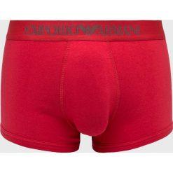 Emporio Armani - Bokserki. Czerwone bokserki męskie marki Emporio Armani, z bawełny. Za 139,90 zł.