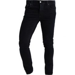 Spodnie męskie: Nudie Jeans GRIM TIM Jeansy Slim Fit black sparkles