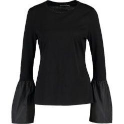 Bluzki asymetryczne: Finery London FLORENCE Bluzka z długim rękawem black
