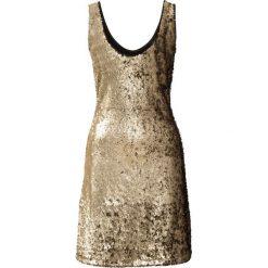 Sukienki: Sukienka z cekinami bonprix matowy złoty