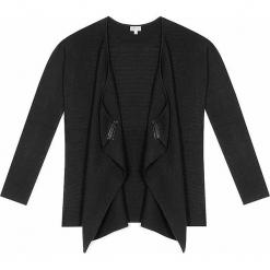 Kardigan kaszmirowy w kolorze czarnym. Czarne kardigany damskie marki Ateliers de la Maille, z kaszmiru. W wyprzedaży za 682,95 zł.