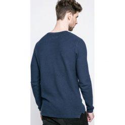 Only & Sons - Sweter. Szare swetry klasyczne męskie Only & Sons, m, z bawełny, z okrągłym kołnierzem. W wyprzedaży za 59,90 zł.