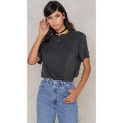 T-shirty damskie: Amplified T-shirt z diamentowym nadrukiem logo ACDC – Black,Grey