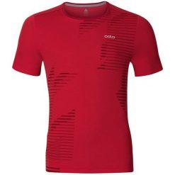 Odlo Koszulka męska T-shirt s/s crew neck GEORGE czerwona r. L (221802). Czerwone koszulki sportowe męskie marki Odlo, l. Za 149,95 zł.